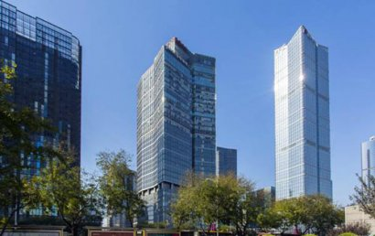 """北京写字楼市场""""冰火两重天"""":出租不易,买卖增多"""