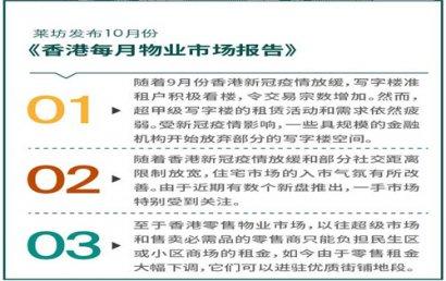 香港超甲级写字楼租赁需求依然疲弱
