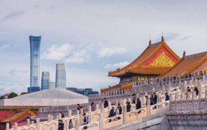 直击北京第一高楼:中国尊