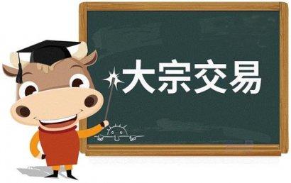 上海依然是国内大宗交易金额排名第一的城市